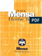 (Job) ( English E-Book) Mensa Test