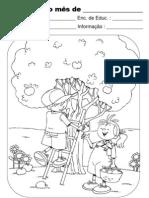 Ficha de Avaliação Mensal de Maio
