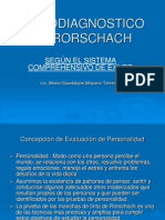 Psicodiagnostico de Rorschach Exposicion