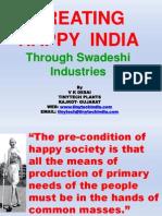 Creating Happy India