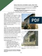 Procena Stanja, Dogradnja i Sanacija Konstrukcije Stambene