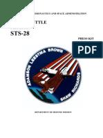 NASA Space Shuttle STS-28 Press Kit