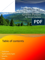 Green+Power presentation