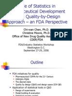 (1)Statistics in QbD Stats WS 09-06