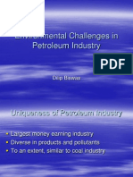 Environmental Challenges in Petroleum Industry