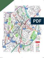 Harta Metrou Plan Centru Viena