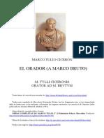 Cicerón, Marco Tulio - El Orador (a Marco Bruto)-bilingüe