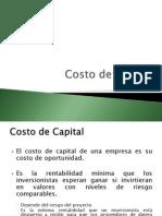 Costo de Capital