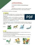 FICHA de Animales Vertebrados e Invertebrados