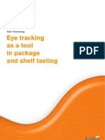 Eye Tracking as a Tool in Package and Shelf Testing