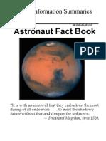 NASA Astronaut Fact Book 2005