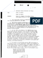Declassified CIA File - Subject- Visit of a Member of the West German Intelligence Service to the United States (8.4.1966)