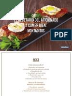 Recetario Montaditos PDF Gratis