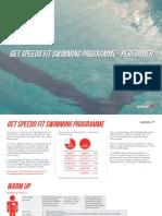 Get Speedo Fit Swimming Programme - Performer