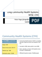 Peter Hage - Long Community Health Systems