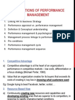 Foundations of Performance Management