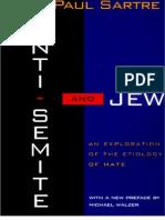 Anti-Semite and Jew Sartre