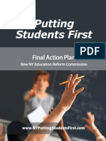 New Ny Education Reform Commission Final Action Plan