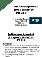 Jefferson Boulevard Presentation 1.13.14