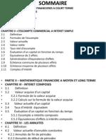 mathematiques financieres