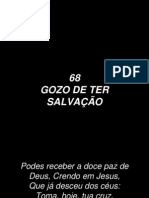 68 - Gozo de Ter Salvação