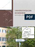 Universitatea Din Hohenheim
