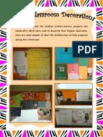 English Classroom Decorations