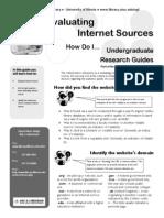 01-15 evaluate internet