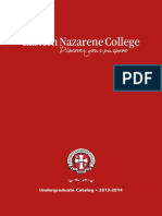 Undergraduate Catalog 2013-2014