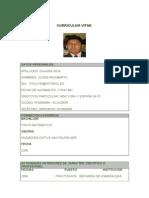 ModeloCVcurriculumNormalizado.doc