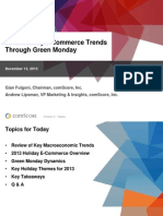2013 Holiday E-Commerce Trends Through Green Monday - FINAL