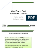 Wind Power Plant SCADA and Controls