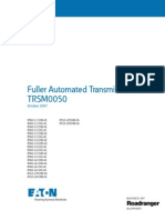 72 Fuller RTLO 18918B as Transmission Service Manual