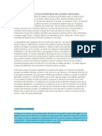 Modelos de La Politica Economica Del Estado Mexicano