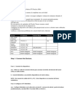 Dhomesb Configuración básica PT Practice SBA