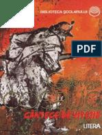 Cosbuc, George - Cantece de Vitejie (Cartea)