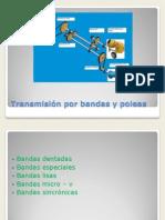 Transmisic3b3n Por Bandas y Poleas