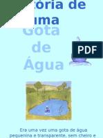 História de uma gotinha de água(1)