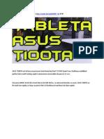Asus T100TA - Tableta Asus T100TA