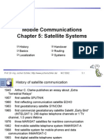 C05 Satellite Systems