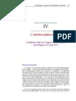 Bergson - Lintuition Philosophique (La Pensee Et Le Mouvant)