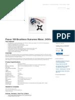 Power 160 Brushless Outrunner Motor, 245Kv (EFLM4160A)_ E-Flite - Advancing Electric Flight