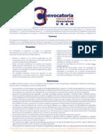 Convocatoria UNAM 2014