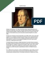 Biografía de Hegel