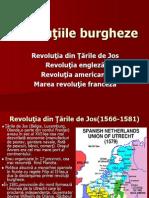 revoluțiile burgheze