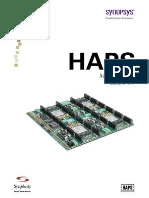 Haps-54 March2009 Manual | Field Programmable Gate Array
