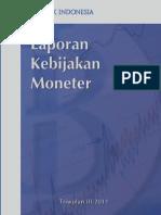 Laporan Kebijakan Moneter Bank Indonesia