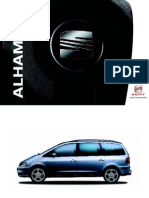 Seat Alhambra Users Manual