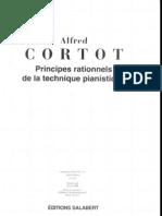 Alfred Cortot - Principes Rationnels de La Technique que