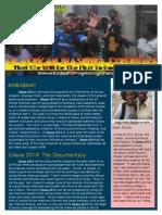 Ghana 2014 Newsletter